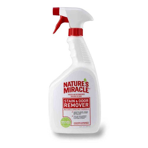 8 in 1 Nature`s Miracle Stain Odor Remover spray - уничтожитель пятен и запаха 8 в 1