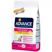Advance Cat Senior - корм Эдванс для кошек старше 10 лет, c курицей и рисом