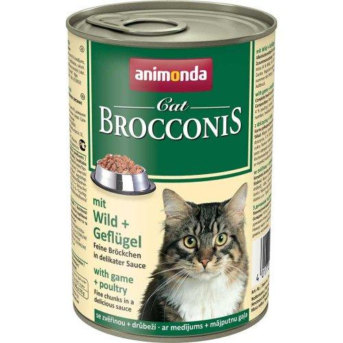Animonda Brocconis - консервы Анимонда Брокконис с дичью и домашней птицей для кошек
