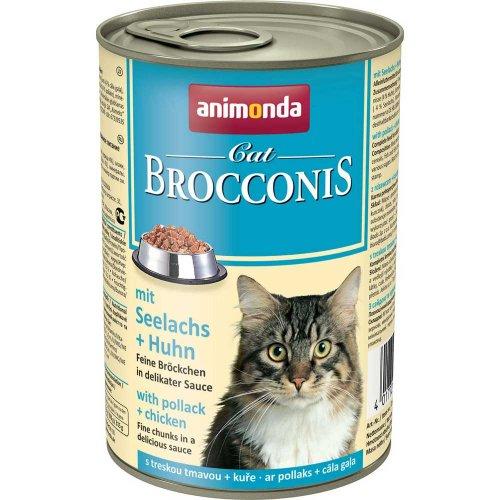 Animonda Brocconis - консервы Анимонда Брокконис с сайдой и курицей для кошек