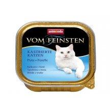 Animonda Adult Vom Feinsten - консервы Анимонда с индейкой и форелью для кошек
