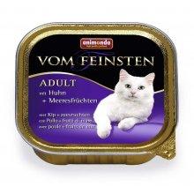Animonda Vom Feinsten Mare - консервы Анимонда с курицей и морепродуктами для кошек