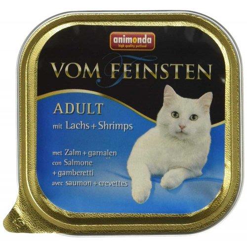 Animonda Vom Feinsten - консервы Анимонда с лососем и креветками для кошек