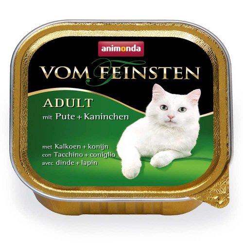 Animonda Vom Feinsten - консервы Анимонда с индейкой и кроликом для кошек