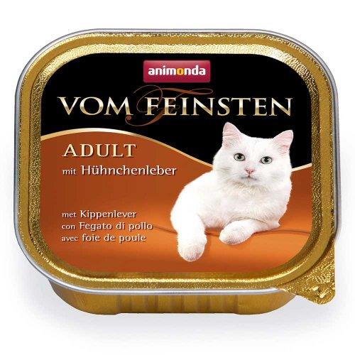 Animonda Vom Feinsten - консервы Анимонда с куриной печенью для кошек