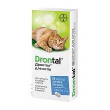 Bayer Drontal - средство от глистов Байер Дронтал для кошек