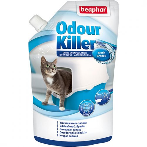 Beaphar Odour Killer For Cats - дезодорант Бифар для кошачьих туалетов