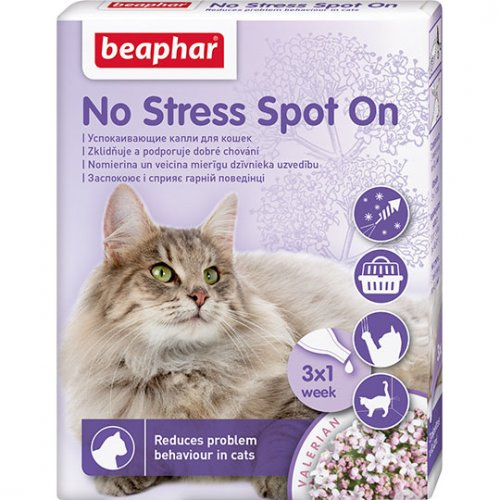 Beaphar No Stress - капли антистресс Бифар для кошек