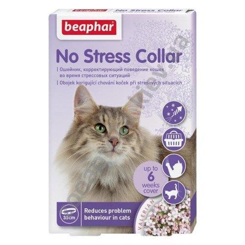 Beaphar No Stress - ошейник антистресс Бифар для кошек