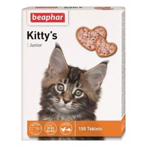 Beaphar Kitty`s Junior - витаминизированное лакомство Бифар для котят