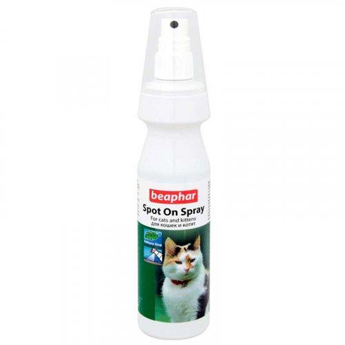 Beaphar Bio Spot On Spray For Cats - спрей Бифар от блох для кошек на натуральной основе