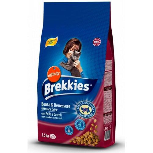 Brekkies Excel Urinary Care - корм Брекіс Урінарі з куркою і таурином для кішок