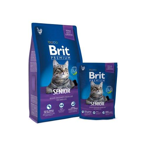 Brit Premium Cat Senior - корм Брит для пожилых кошек