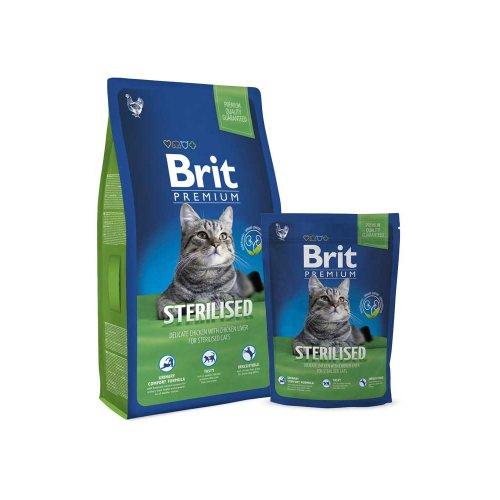 Brit Premium Cat Sterilized - корм Брит для стерилизованных кошек