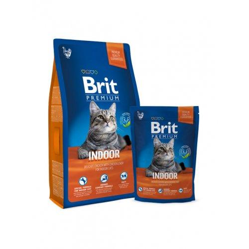 Brit Premium Cat Indoor - корм Брит для домашних кошек