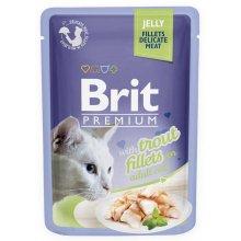 Brit Premium - корм Брит с форелью в желе для кошек