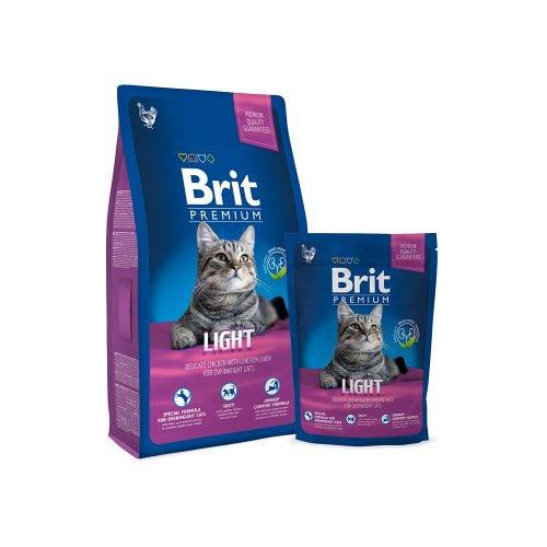 Brit Premium Cat Light - корм Брит для кошек с избыточным весом