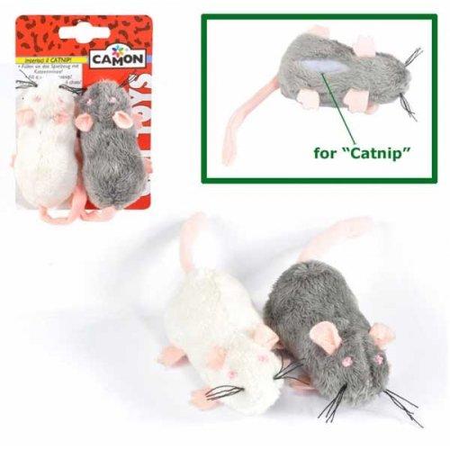 Camon - мышь Камон с карманом для кошачьей мяты