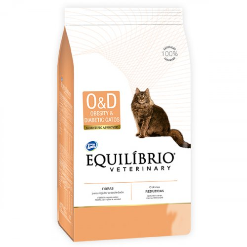 Equilibrio Cat Obesity & Diabetic - корм Эквилибрио для лечения ожирения и сахарного диабета у кошек
