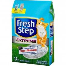 Fresh Step Extreme Clay Cat Litter - впитывающий наполнитель Фреш степ