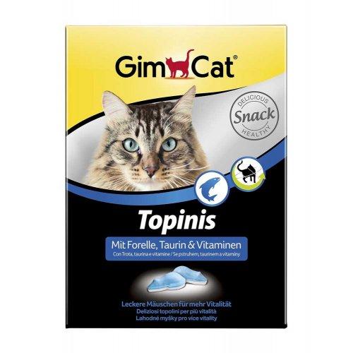 Gimpet - витамины Гимпет, мышки с форелью и таурином для кошек