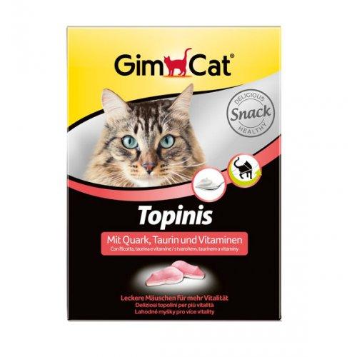 Gimpet - витамины Гимпет, мышки с творогом и таурином для кошек