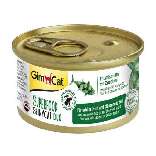 Gimpet ShinyCat Superfood - консервы Джимпет с тунцом и цукини