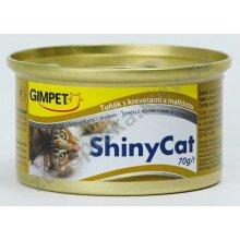 Gimpet ShinyCat - консервы Джимпет с тунцом, креветками и солодом