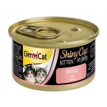 Gimpet ShinyCat - консервы Джимпет с курицей для котят