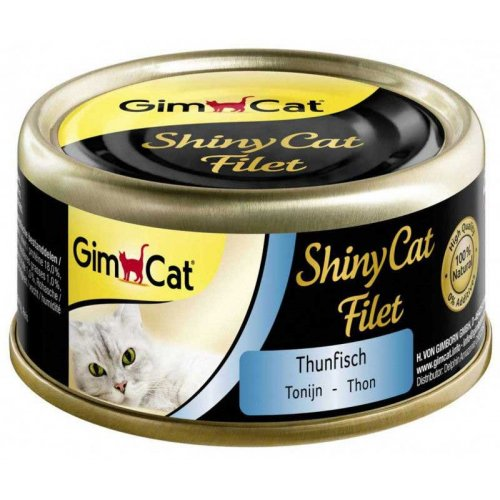 Gimpet ShinyCat Filet - консервы Джимпет с тунцом