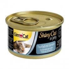 Gimpet ShinyCat - консервы Джимпет с тунцом и креветками