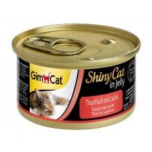 Gimpet ShinyCat - консервы Джимпет с тунцом и лососем