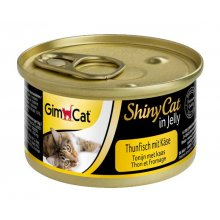 Gimpet ShinyCat - консервы Джимпет с тунцом и сыром