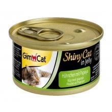 Gimpet ShinyCat - консервы Джимпет с курицей и папайей