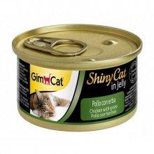 Gimpet ShinyCat - консервы Джимпет с курицей и травой