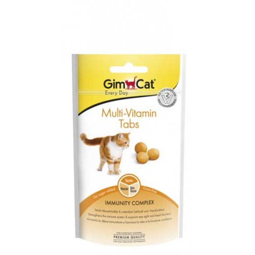 Gimpet Multi-Vitamin Tabs - таблетки Джимпет Мульти-Витамин для кошек