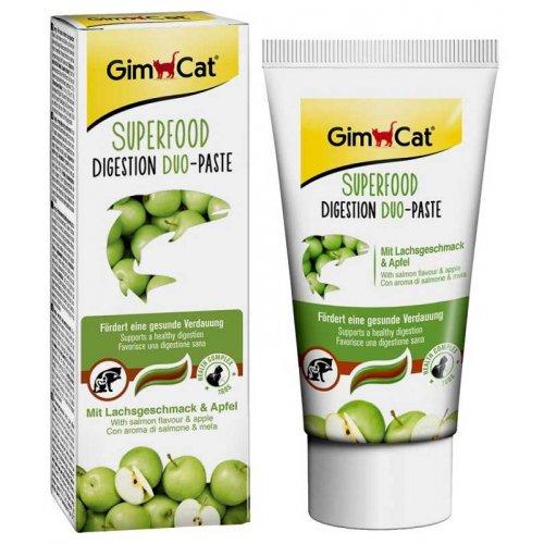 Gimpet Superfood Duo-Paste - паста Джимпет с лососем и яблоками для кошек