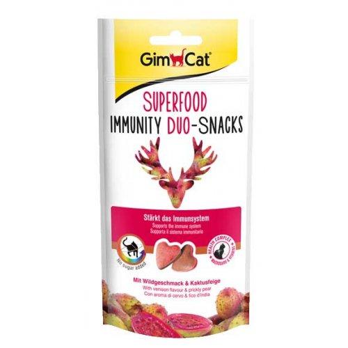 Gimpet Superfood - сердечки Джимпет с дичью и опунцией для кошек