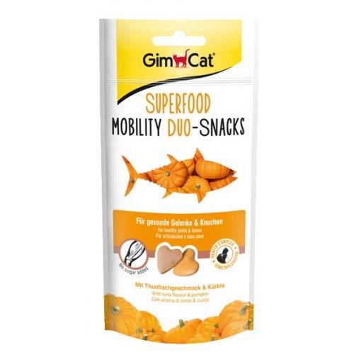 Gimpet Superfood - сердечки Джимпет с тунцом и тыквой для кошек