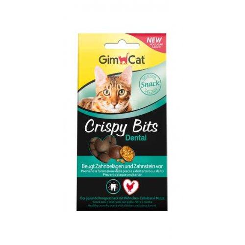 Gimpet Crispy Bits Dental - мясные шарики Джимпет для ухода за зубами