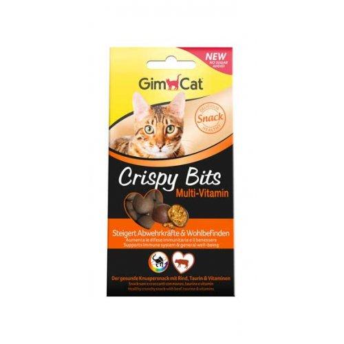Gimpet Crispy Bits - мясные шарики Джимпет Мультивитамин для кошек