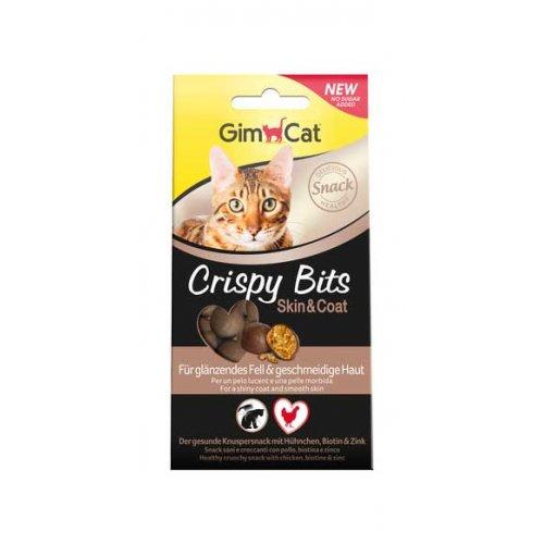 Gimpet Crispy Bits - мясные шарики Джимпет для кожи и шерсти