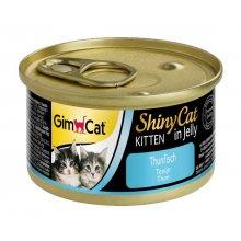 Gimpet ShinyCat - консервы Джимпет с тунцом для котят