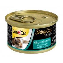 Gimpet Shinycat - консервы Джимпет с курицей и креветками