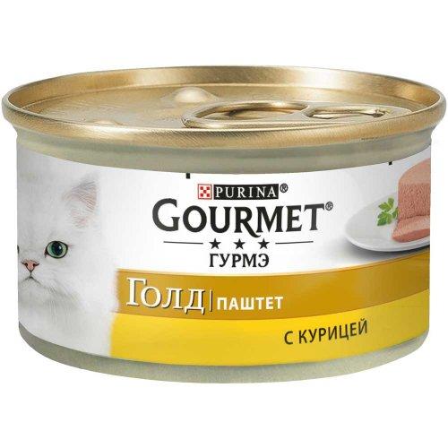 Gourmet Gold - паштет Гурмет Голд с курицей для кошек
