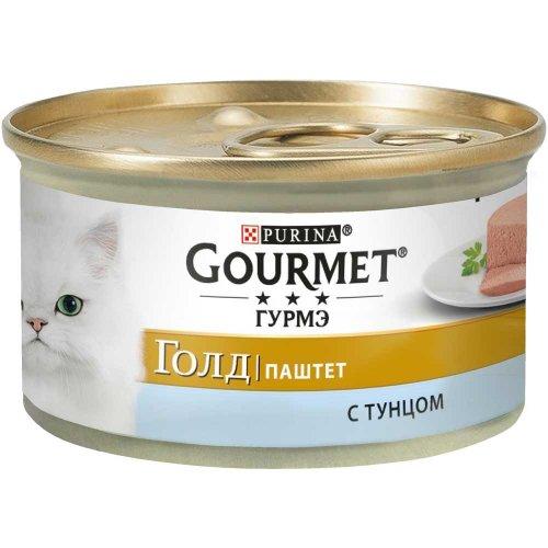 Gourmet Gold - паштет Гурмет Голд с тунцом для кошек
