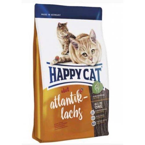 Happy Cat Adult - корм Хэппи Кет Атлантический лосось для взрослых кошек