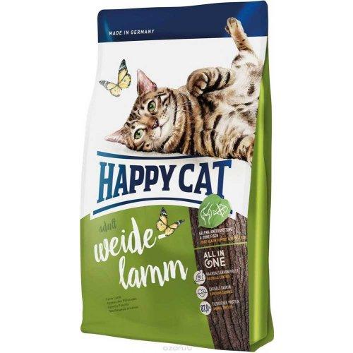 Happy Cat Adult Weide Lamm - корм Хэппи Кет Пастбищный ягненок для кошек
