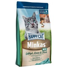 Happy Cat Minkas Mix - корм Хэппи Кет Минкас Микс для взрослых кошек