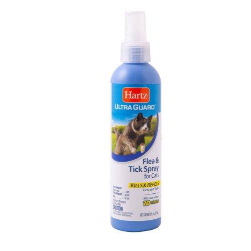 Hartz Flea and Tick Cat Spray - спрей Хартц от блох и клещей для кошек